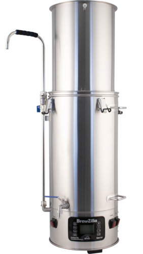 Image of the BrewZilla Electric All-In-One Brewing System