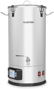 Image of the Image of the Klarstein Maischfest Electric All-In-One Brewing System