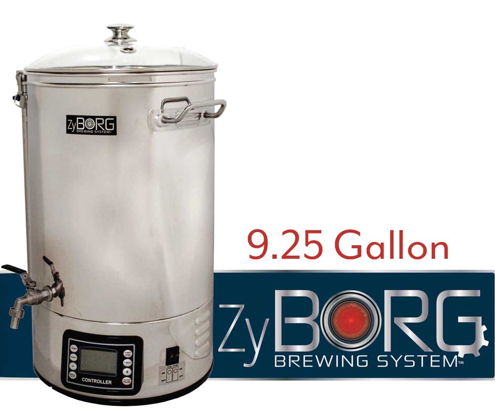 Image of the ZyBorg Electric All-In-One Brewing System