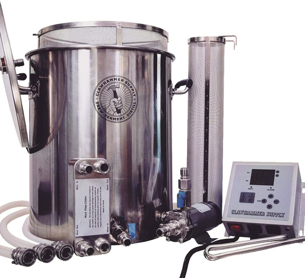 Clawhammer Supply's Electric Home Brewing System